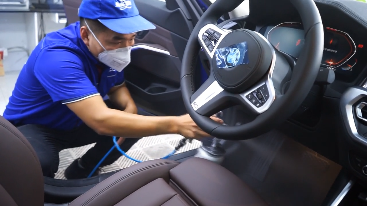 汽车案例:宝马车内污染